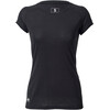 Mons Royale W's Bella Coola Tech Geo T-Shirt Black